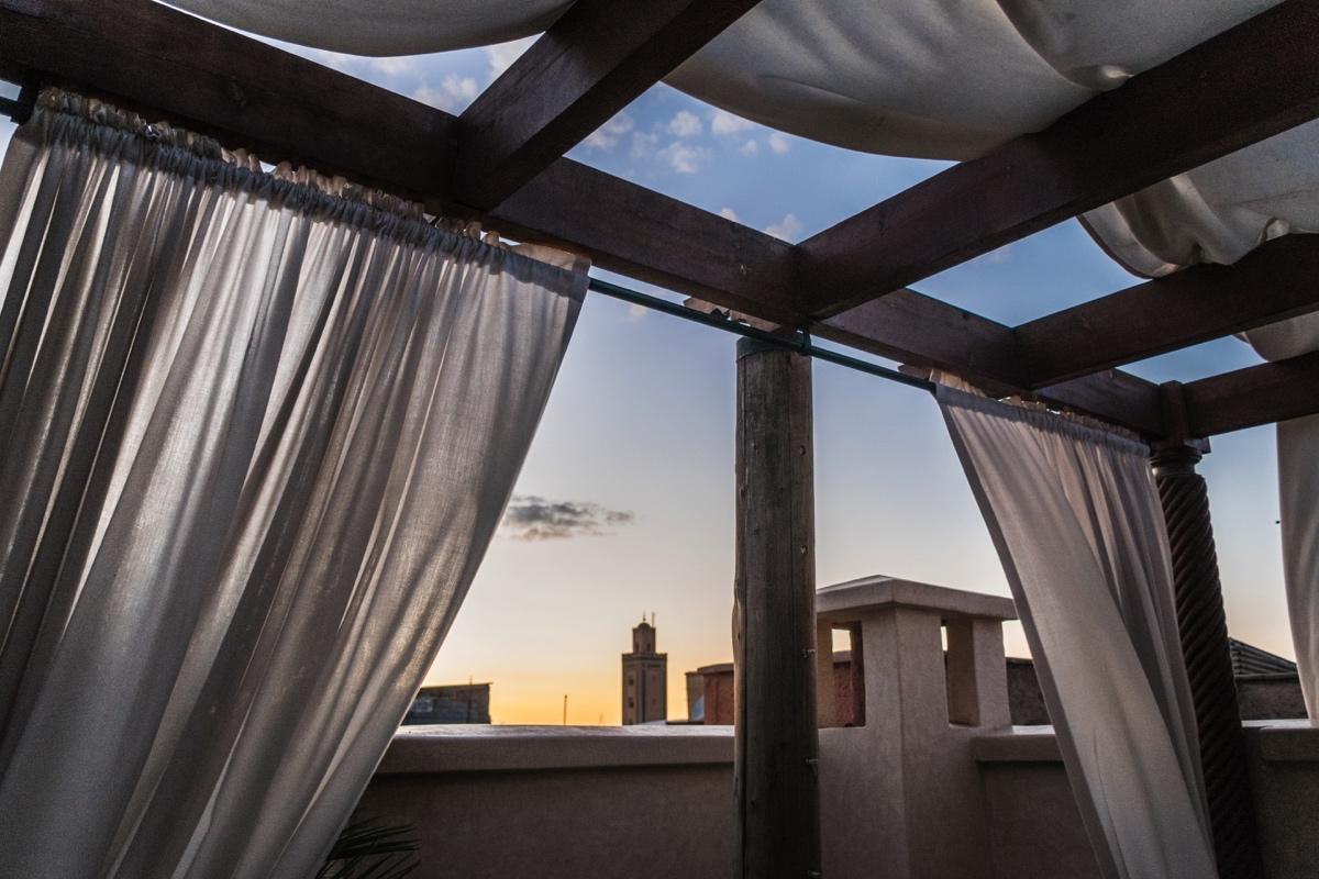 Terrasse du Dar Assiya à Marrakech