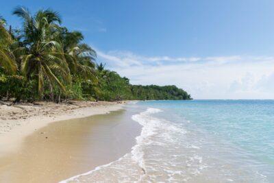 Plage de Cahuita au Costa Rica