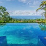 Piscine dans un hôtel d'Uvita au Costa Rica
