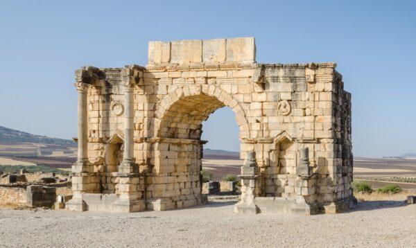 Volubilis, ville antique romaine au Maroc