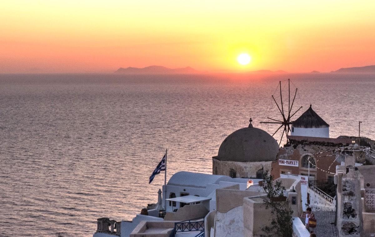 Voyager en Grèce en été