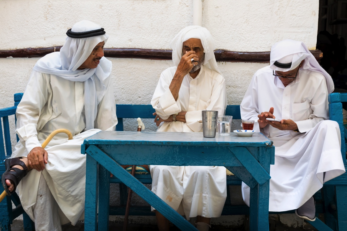 Café traditionnel à Manama