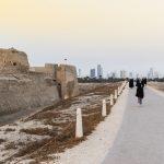 Fort de Bahreïn en fin de journée