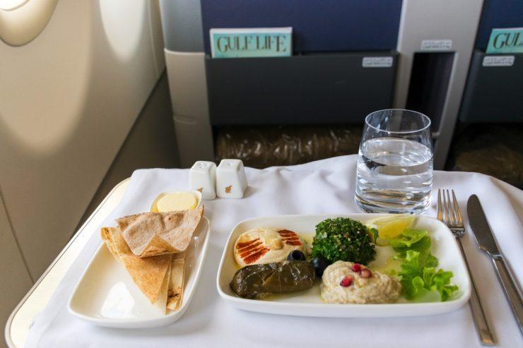 Gulf Air en business class