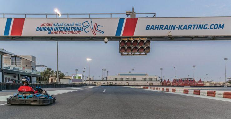 Karting au Bahreïn