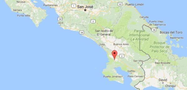 Kokopelli à Sierpe au Costa Rica