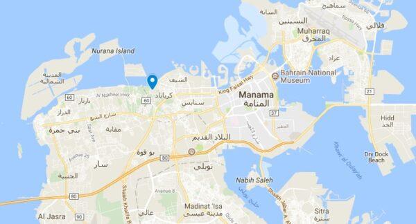Plan Qal'at al Bahrain