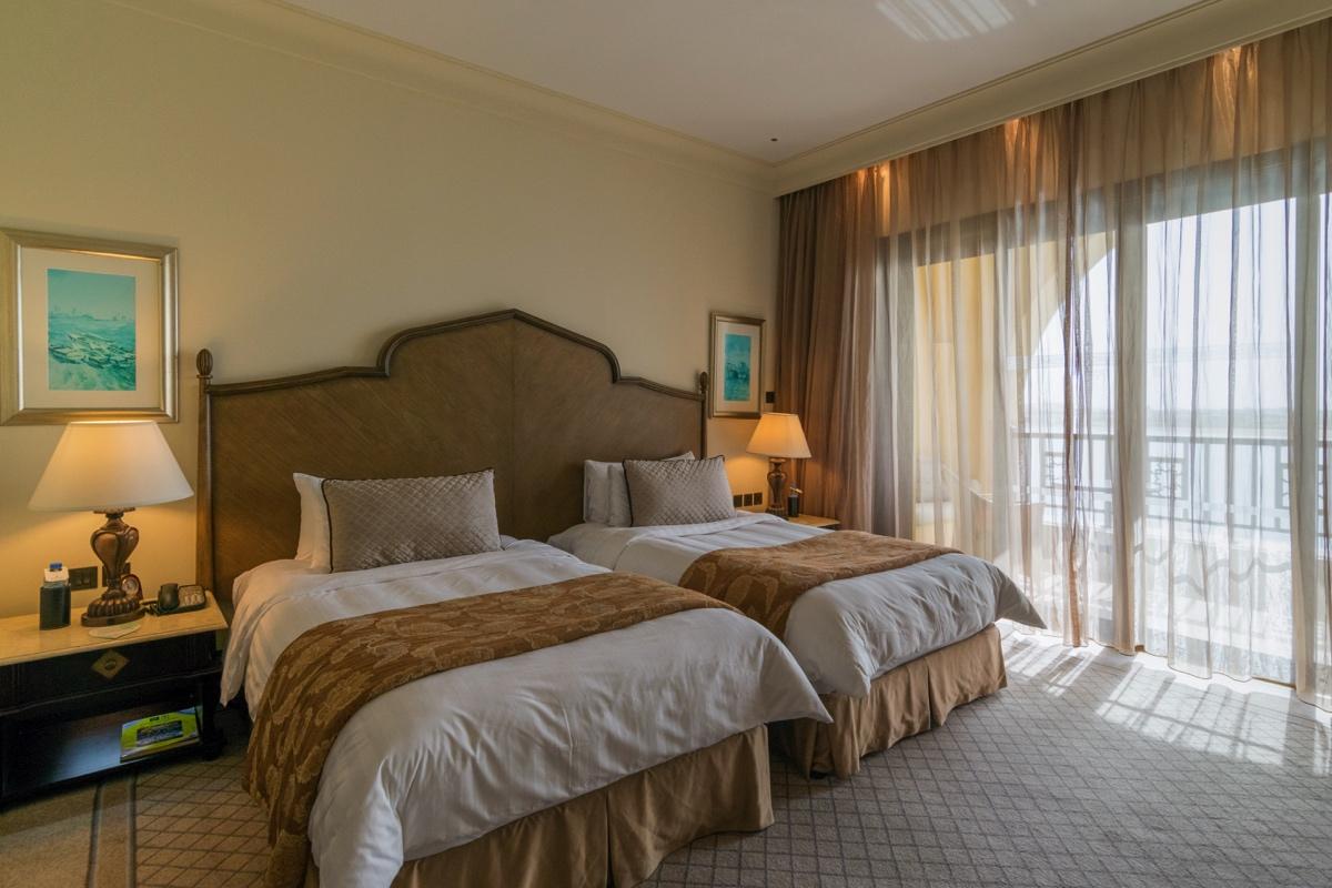 Chambre Horizon Club Deluxe au Shangri-La Abu Dhabi