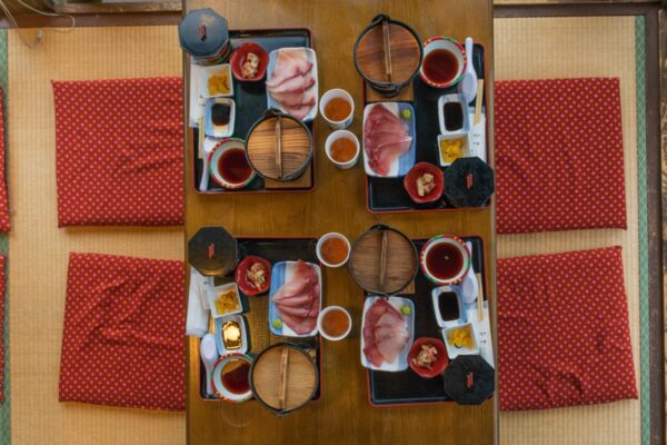 Restaurant Funaya à Ine au Japon