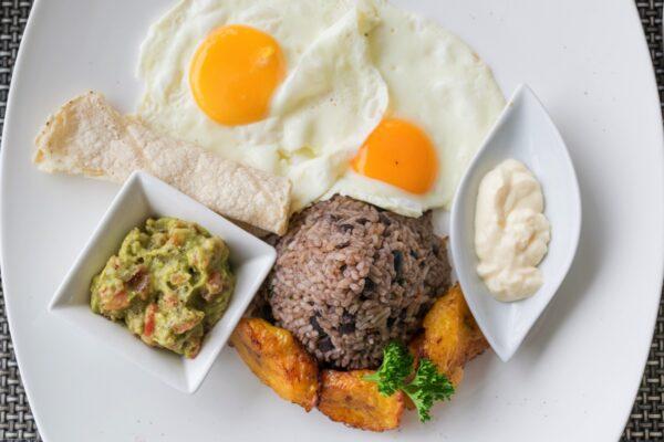 Gallo pinto, petit déjeuner traditionnel du Costa Rica