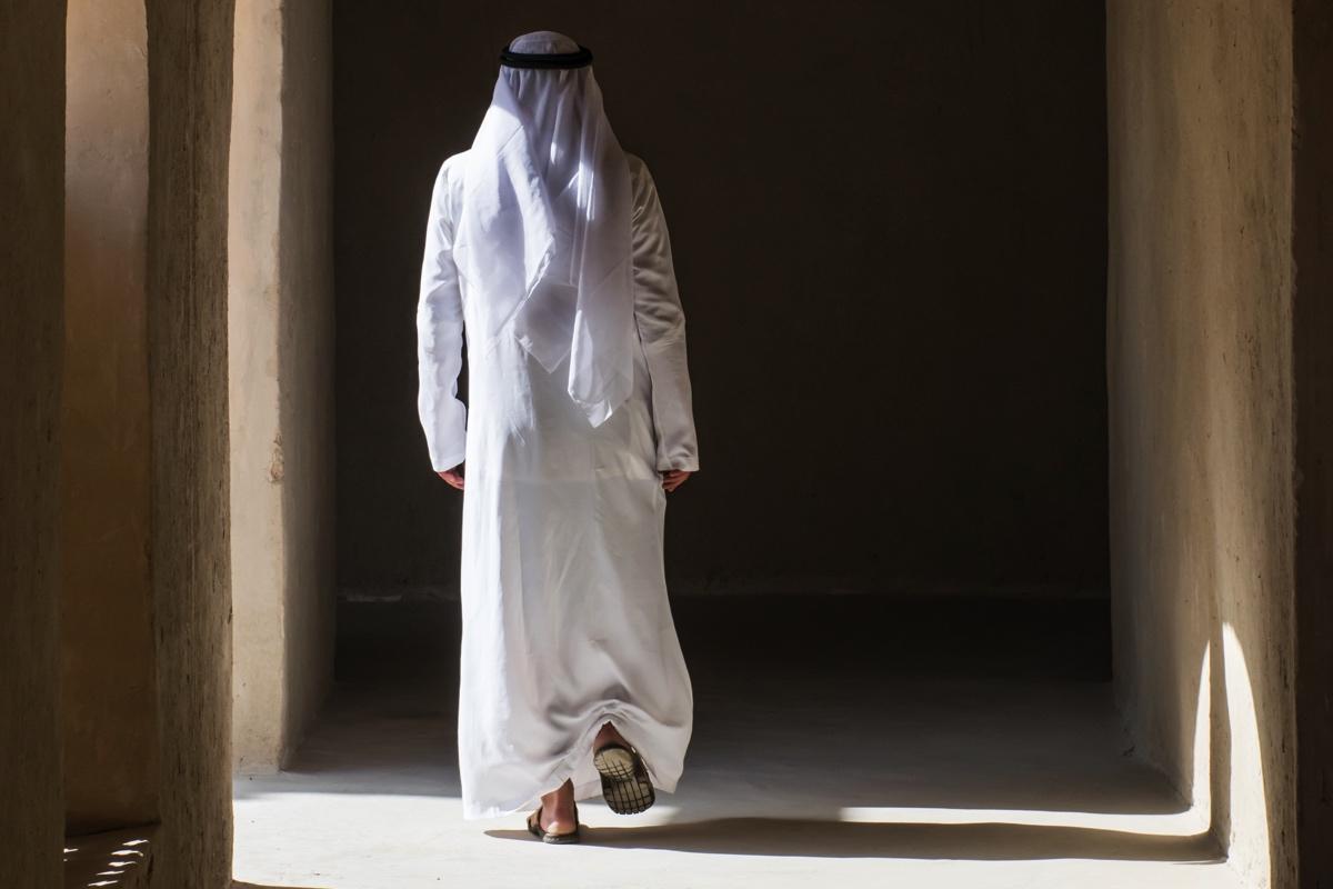 Homme en tenue traditionnelle à Al Aïn