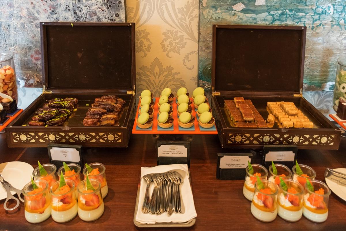 Lounge du Shangri-La d'Abu Dhabi