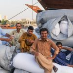 Ouvriers à Deira, Dubai