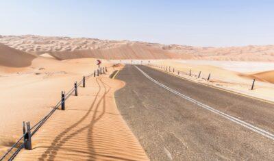 Road trip UAE