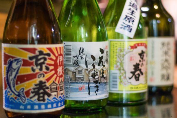 Saké artisanal produit à Ine
