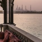 Sunset depuis le Shangri-La Abu Dhabi