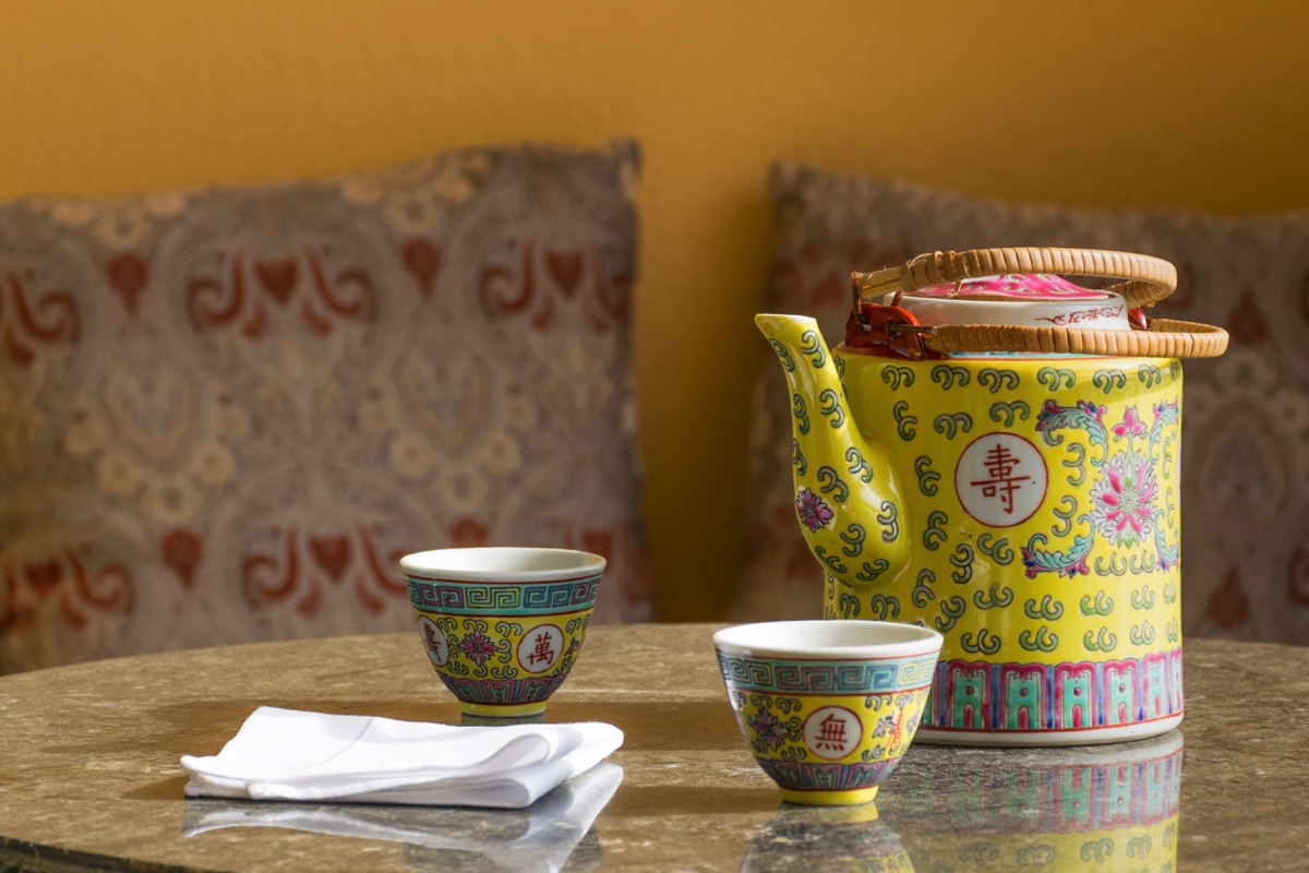 Tea time au Shangri-La d'Abu Dhabi