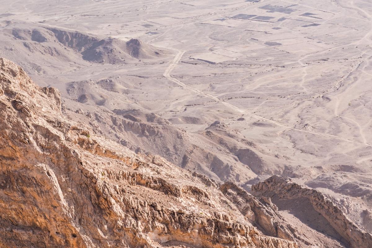 Vue depuis le sommet du Jebel Hafeet