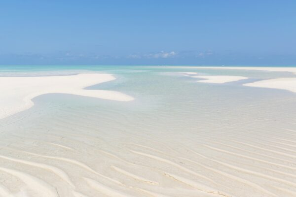 Banc de sable sur Mnemba Island