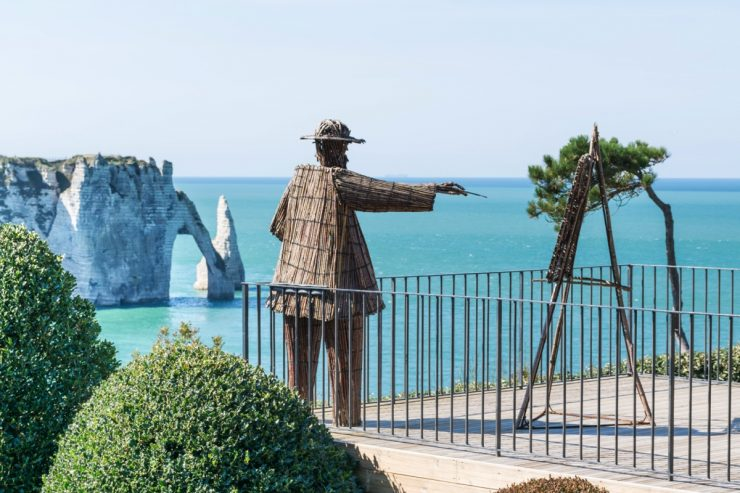Statue de Claude Monet