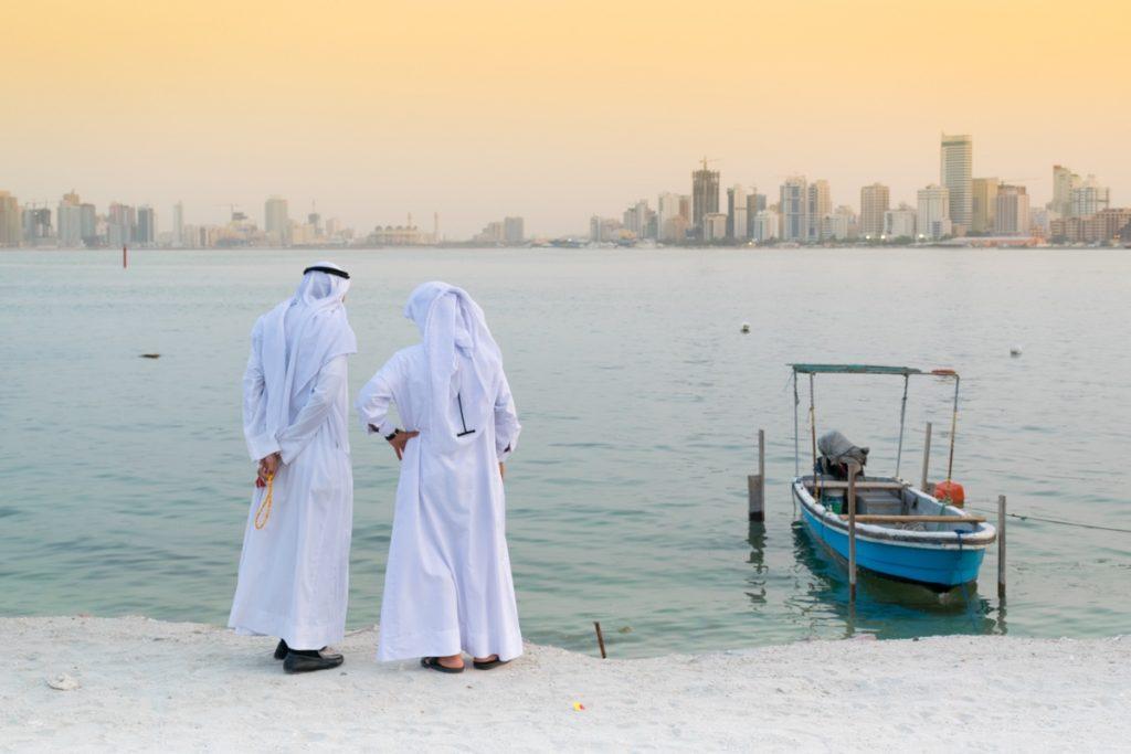 Coucher de soleil à Muharraq