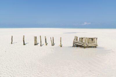Île de Mnemba à marée basse