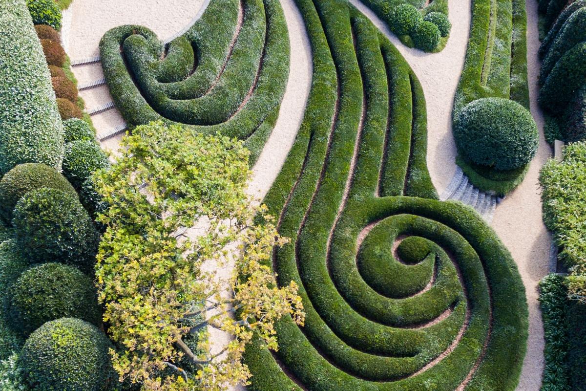 Jardin Element aux jardins d'Etretat