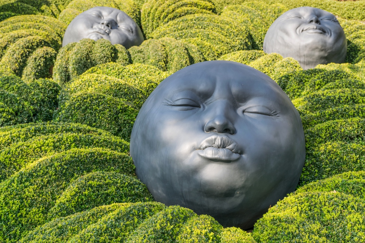 Jardin Emotion aux jardins d'Etretat