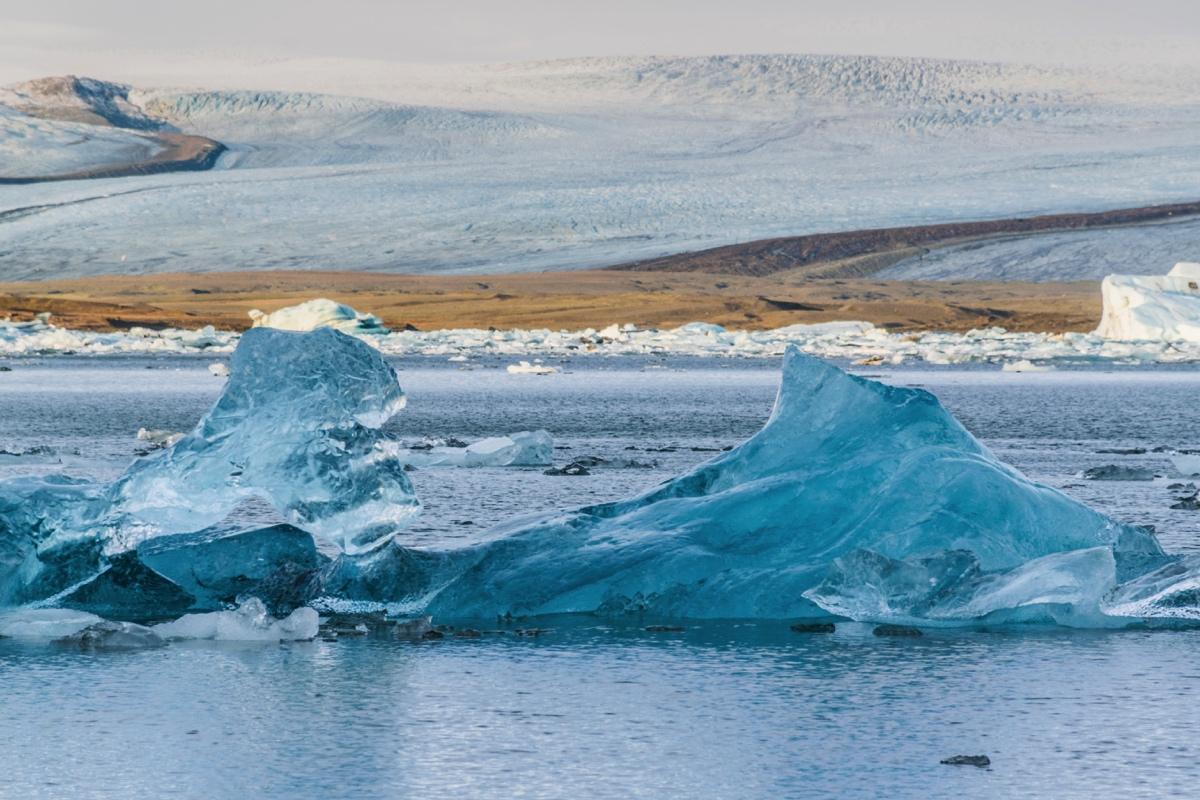 Jokulsarlon lagoon en Islande