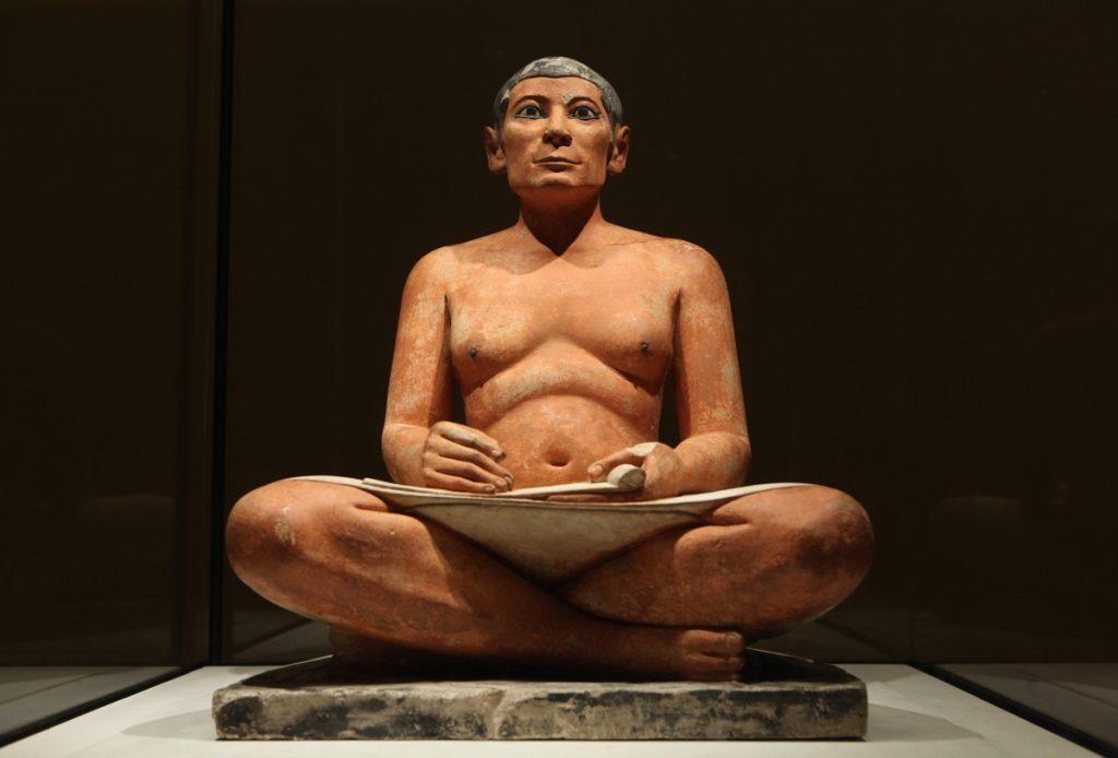 Le Scribe accroupi - Musée du Louvre