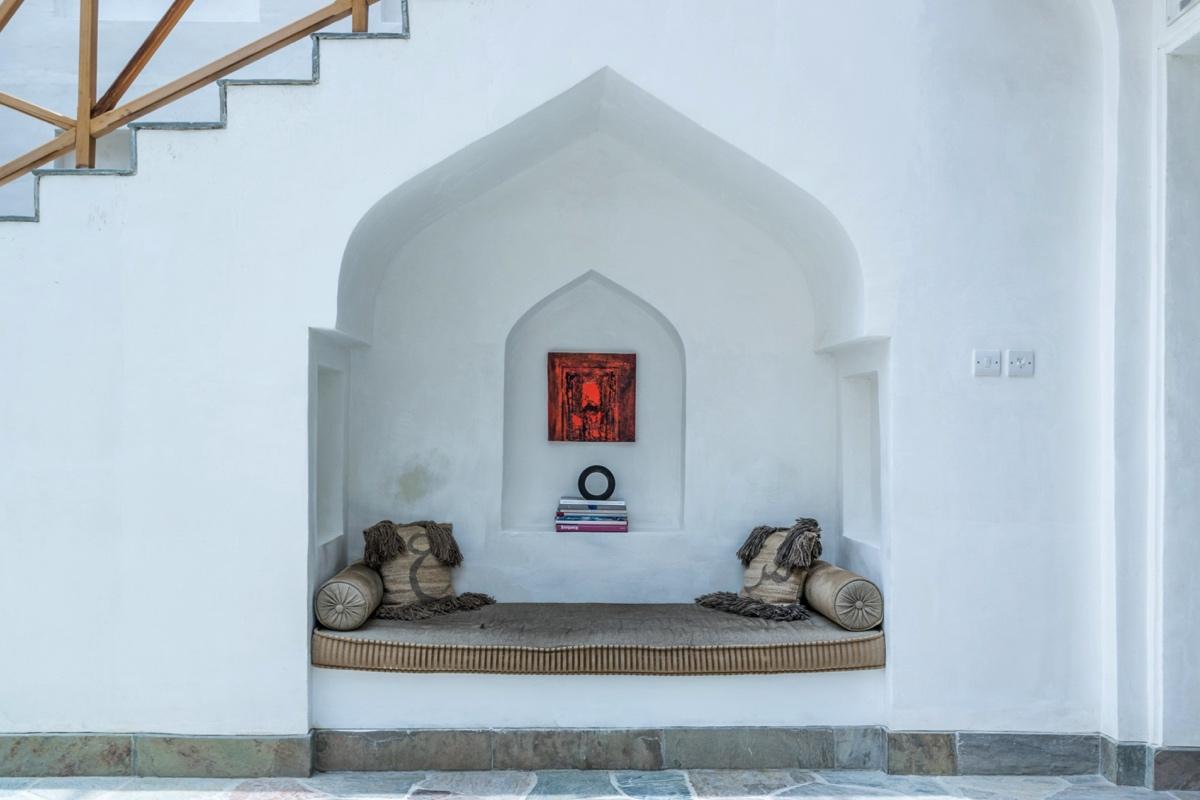 Une des maisons rénovées de Muharraq