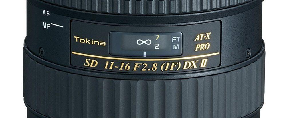 Objectif Tokina 11-16mm