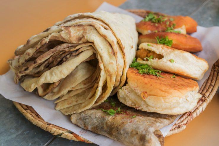 Petit déjeuner au restaurant Saffron de Muharraq