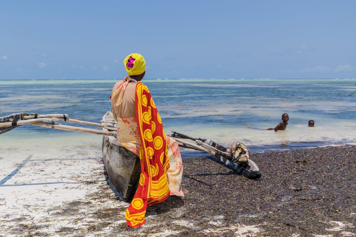 Plage de Matemwe à Zanzibar