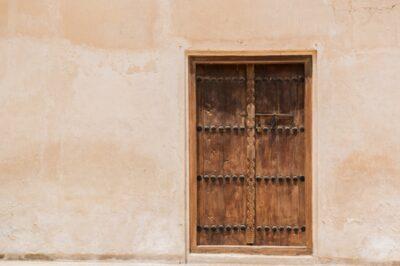 Porte traditionnelle à Muharraq