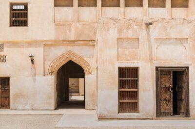 Cour intérieur de la Sheikh Isa bin Ali house à Muharraq