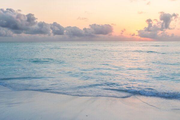 Sunrise sur Mnemba Island à Zanzibar