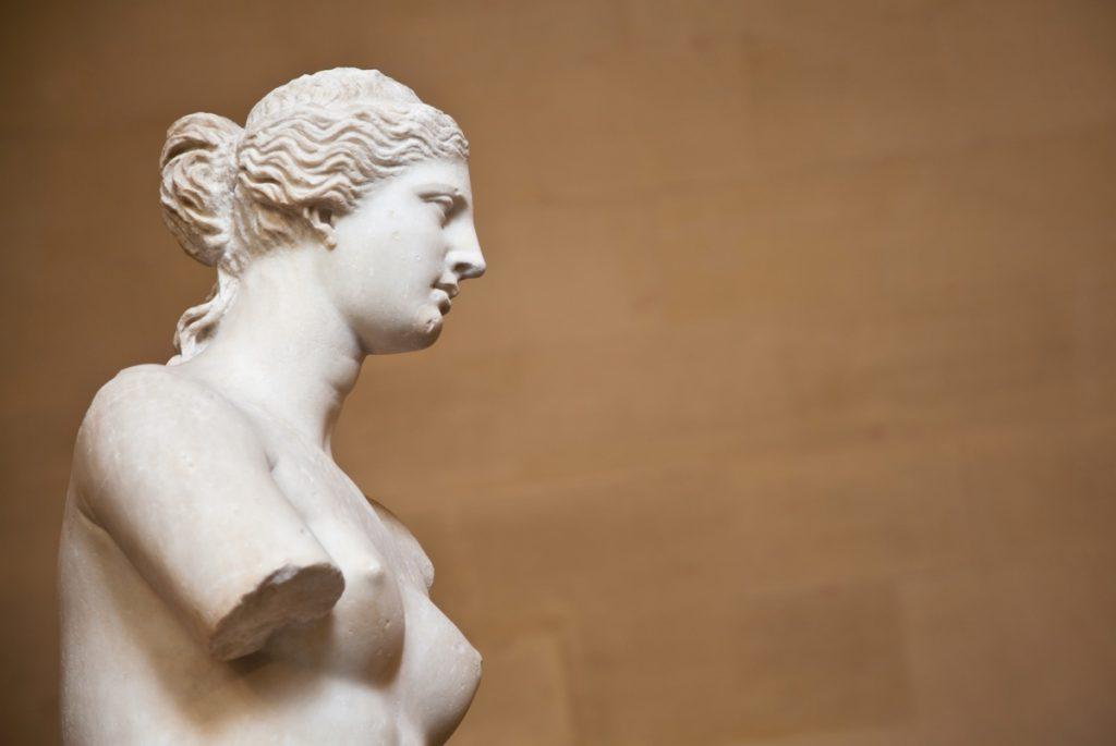 Vénus de Milo au musée du Louvre