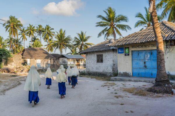 Village de Jambiani à Zanzibar