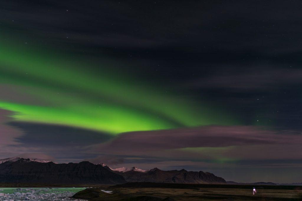 Voir une aurore boréale en Islande