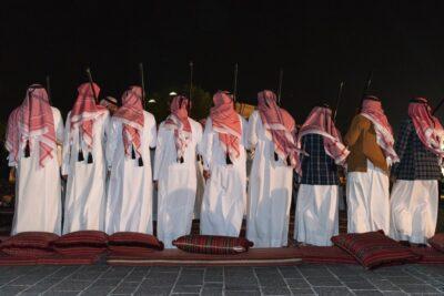 Ardah au Qatar, danse traditionnelle