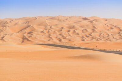 Dunes de Liwa dans le Rub al Khali