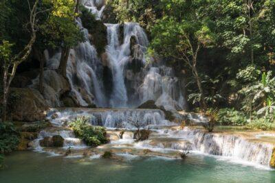 Kuang Si Waterfalls au Laos