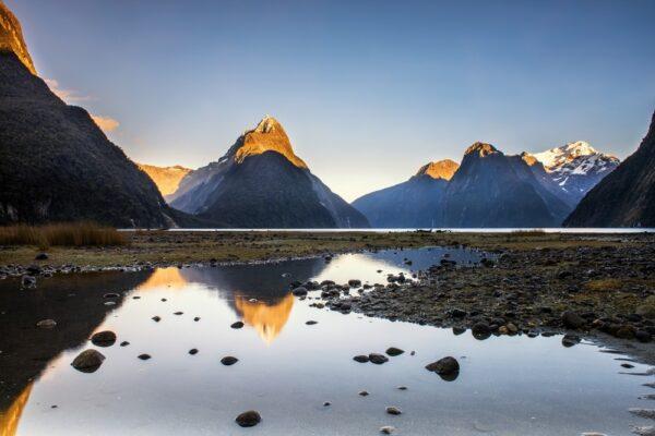 Milford Sound en Nouvelle-Zélande