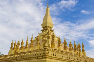 Pha That Luang au Laos