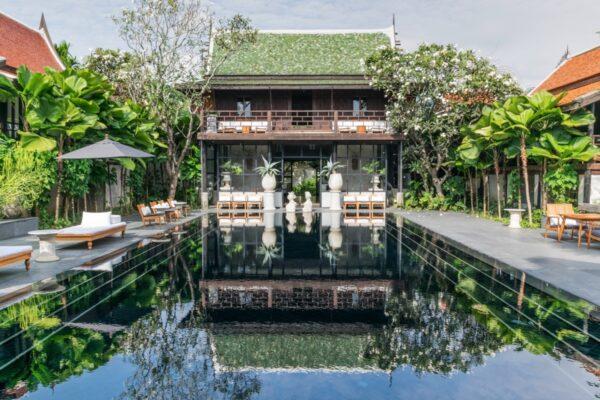 Piscine de la Villa Mahabhirom à Chiang Mai