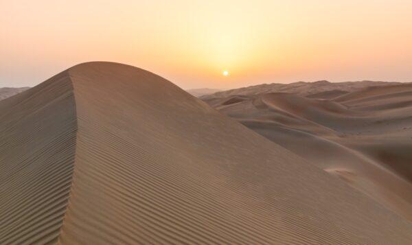 Désert de Liwa, au coeur du Rub al Khali
