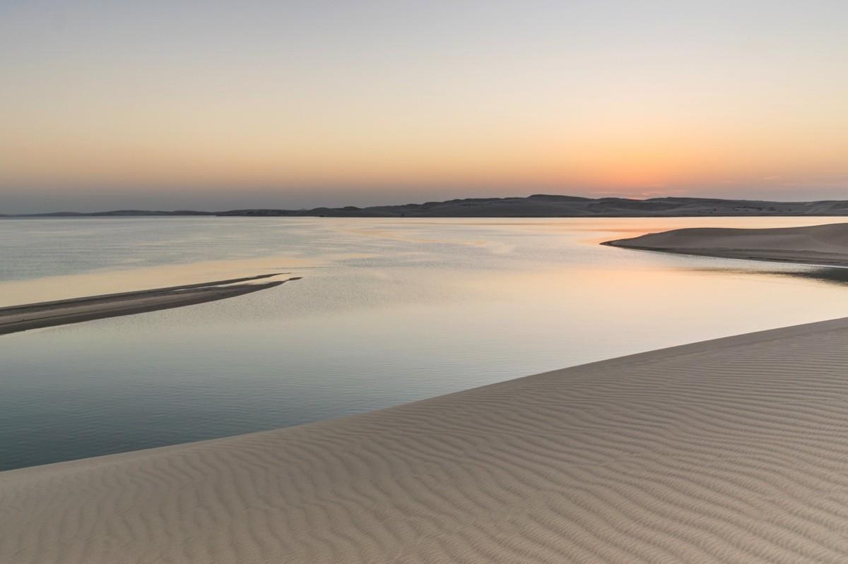 Sunset à Khor al Adaid