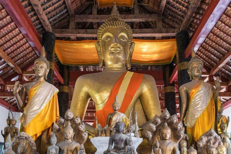 Temple bouddhiste à Luang Prabang