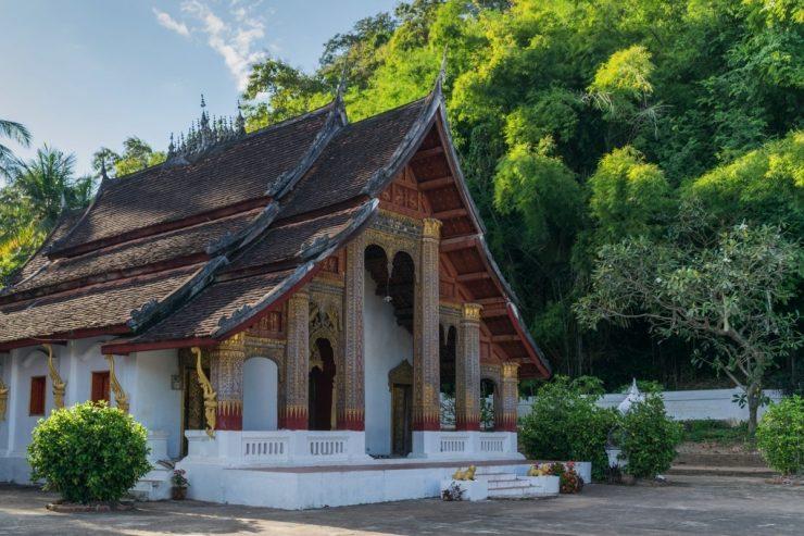 Wat Xieng Man au Laos